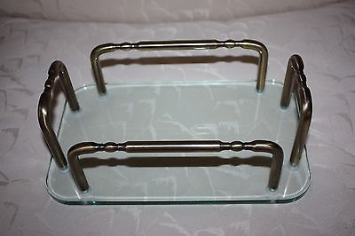Allied Brass Vanity Top Guest Towel Tray Holder - Antique Brass - GT-1-ABR