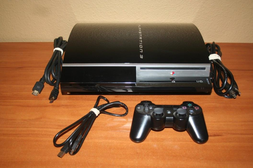 Sony playstation 3 60gb for sale classifieds - Playstation one console for sale ...