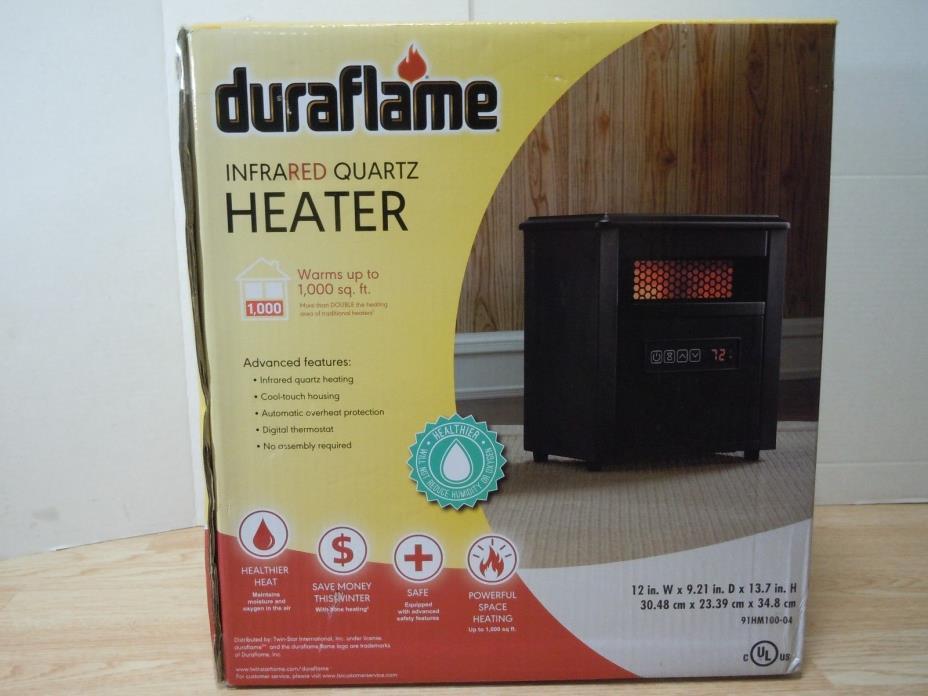 Duraflame Infrared Quartz Heater (91hm100-04)