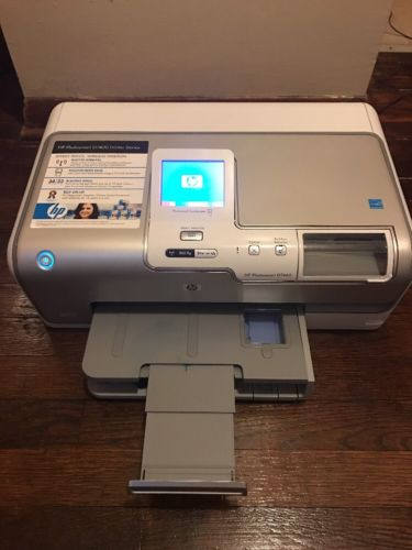HP Photosmart D7460 Wireless Network Color Photo Printer