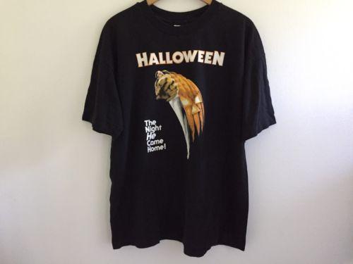 Original HALLOWEEN Rare Vintage Promo Horror Movie T Shirt Michael Myers