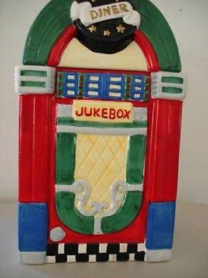 JUKE BOX DINER COOKIE JAR *