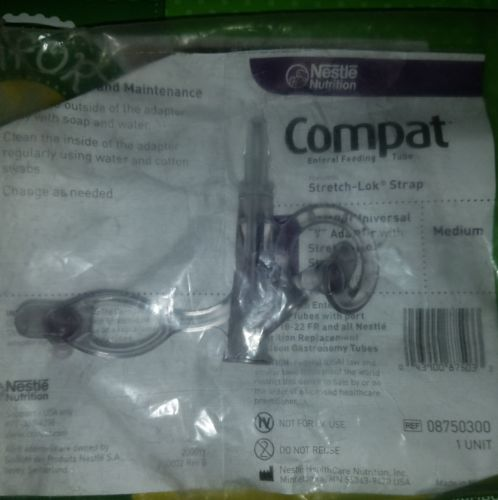 Nestle Compact Y adapter Size M stretch lock strap 18-22 FR universal
