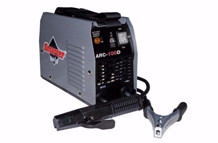 Smarter Tools 120-Volt 100 Amp AC Stick Welder Thermal Overload Protection Tool
