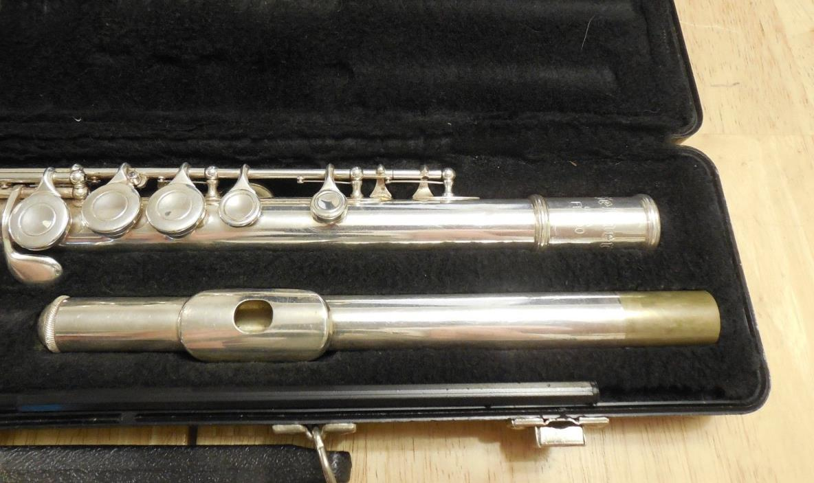 Selmer USA FL300 Student Silver Plated Flute C Foot 1181