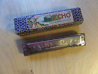 The Echo harmonica M. Hohner Germany C