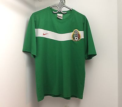 Nike Mexico 2006 Home Jersey Large Short Sleeve SS