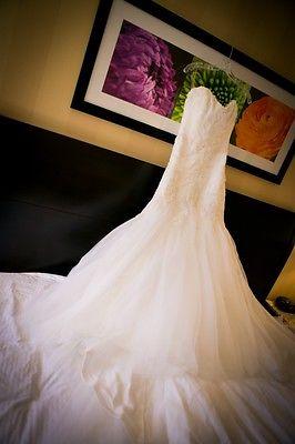 Maggie Sottero Couture, Anniston, Size 8 Wedding Dress