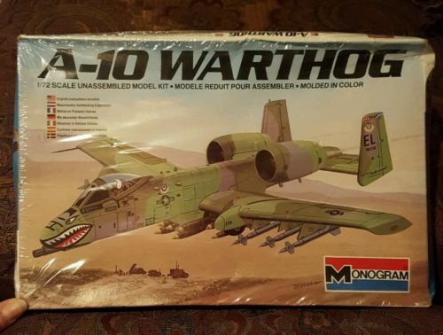 Monogram A-10 Warthog FACTORY SEALED