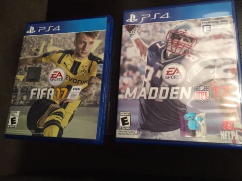 FIFA 17 Madden 17 PS4 Bundle