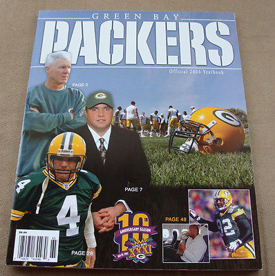 2006 GREEN BAY PACKERS YEARBOOK BRAND NEW MINT CONDITION