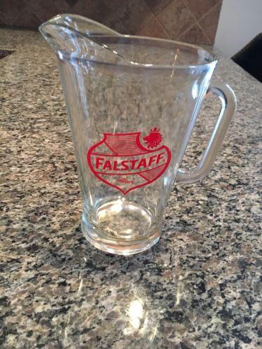 Vintage Falstaff Beer Pitcher