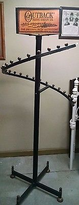 Outback Trading Company Spiral Coat Rack (store display)