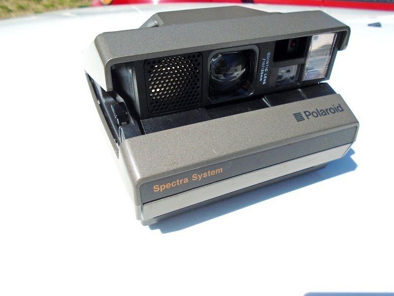 Vintage Polaroid Spectra System SE Instant Film Camera Works!