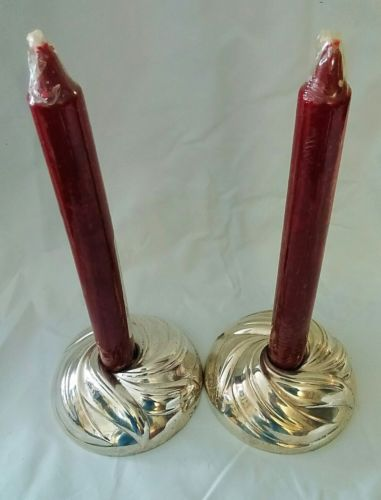 Set of Towle Southwind Sterling Silver Console Candleholder
