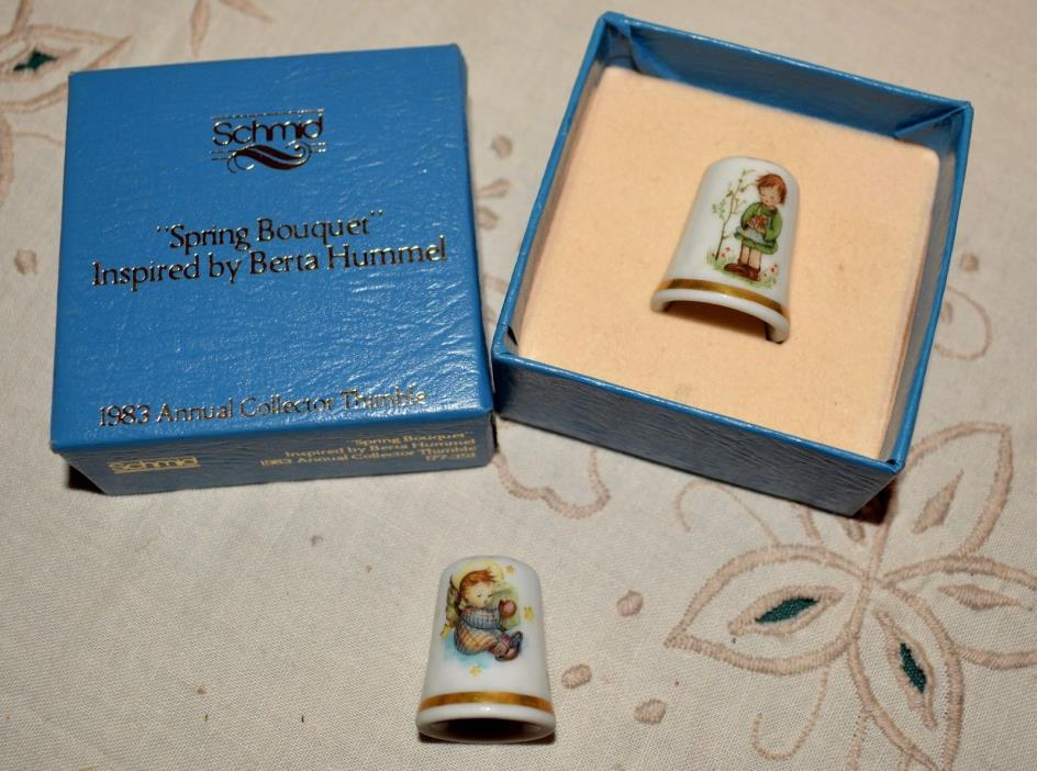 Hummell Inspired Thimbles