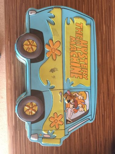 Mystery Machine Metal Lunch Box