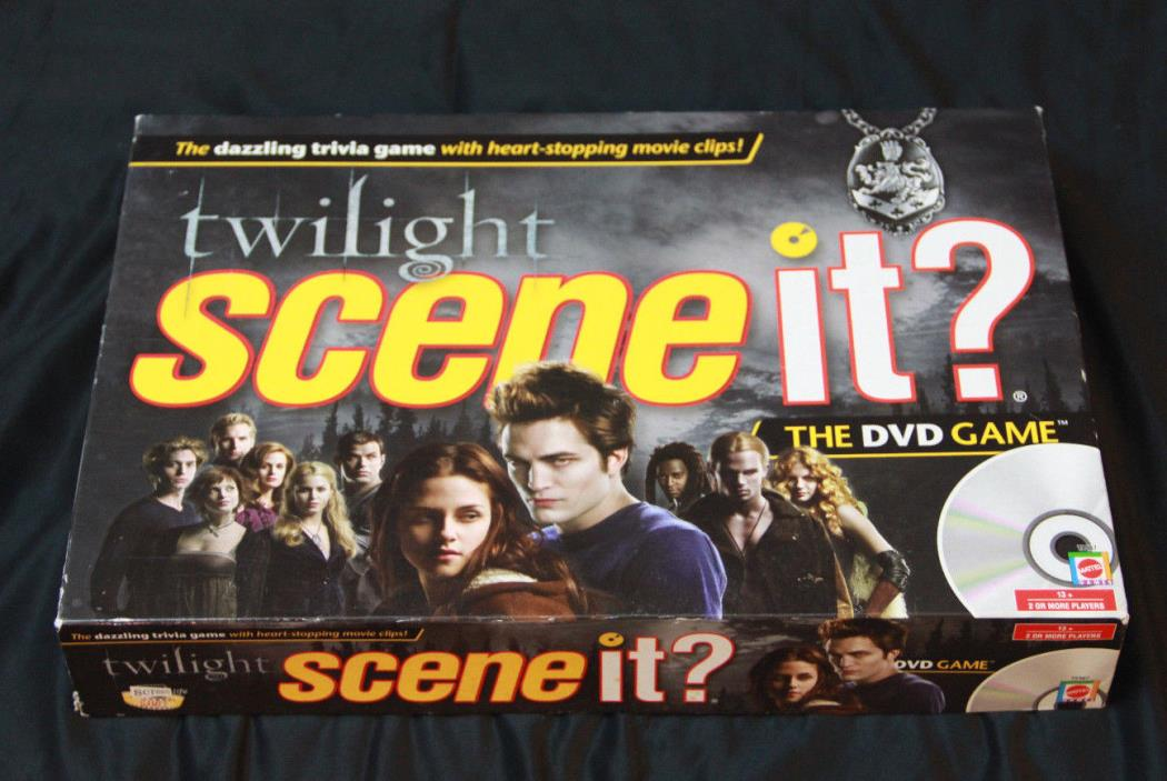 Twilight Scene It? DVD Trivia Board Game Complete