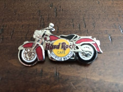 Hard Rock Cafe MYRTLE BEACH 1995 Red Motorcycle Bike PIN - HRC Catalog #5945