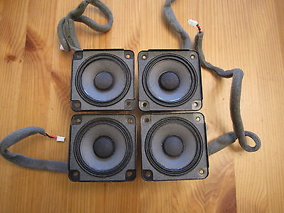 Bose SoundDock Series 1 Replacement Speaker LOT of FOUR (4) Part # 273488001/002