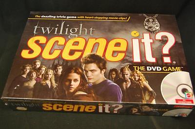 Trivia Board Game Twilight Scene it? DVD Factory Sealed 2009 Movie Clips