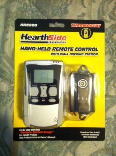 New Hearthside HRC200 Gas Fireplace Remote Control System Thermostat Handheld