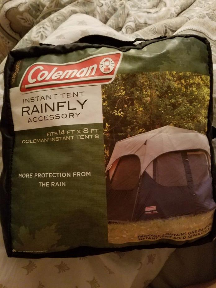 coleman Instant pop tent RAINFLY ACCESSORY 14ftX8ft shield cover rain top canopy