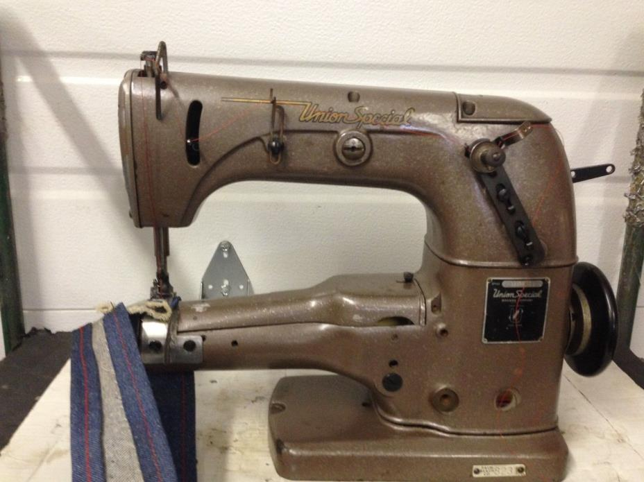 UNION SPECIAL  33500S CYLINDER-BED  FOR HEMMING/ ETC  INDUSTRIAL SEWING MACHINE
