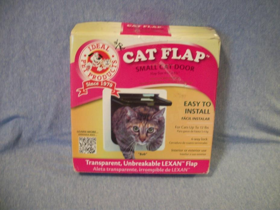 Ideal Pet Products Cat Flap Small Cat Door 6 1/4