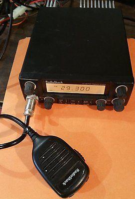 RADIO SHACK HTX-10 MOBILE 10 METER TRANSCIEVER HAM RADIO 19-1110