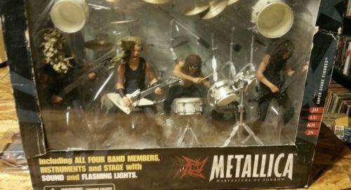 Metallica Harvesters of Sorrow Super Stage Figures ENTIRE BAND - James Hetfield,