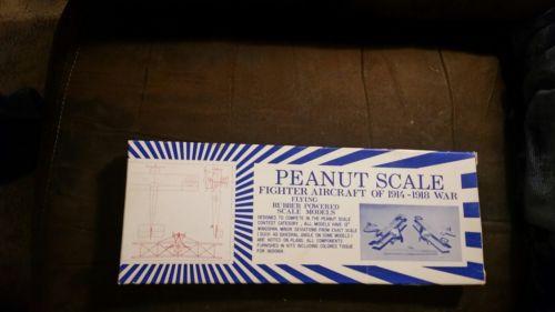 1 Kits Peanut Scale Vintage  Avro 504 K Balsa Airplane Kit
