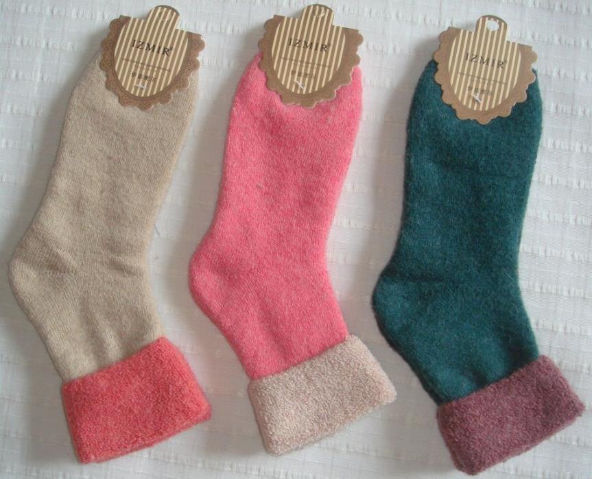 9 Pairs Women's Cotton Blend Socks