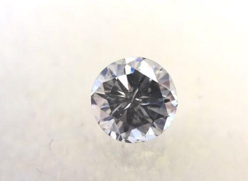 .57 Carat Loose Natural TRANSITIONAL Cut ROUND Diamond SI-2 I 5.24 mm