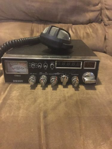 GALAXY DX 55V 10 METER RADIO TRANSCEIVER COBRA MIC WORKS GREAT!