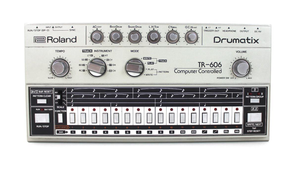 Roland TR-606 Drumatix Analog Drum Machine TR606
