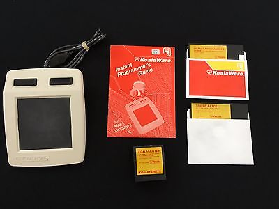 Koala Pad & accessories for Atari 400/800/XL/XE computer - TESTED