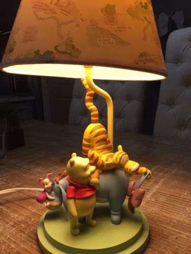Disney Winnie The Pooh Vintage Lamp