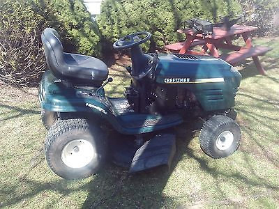 CRAFTSMAN 6 SPEED RIDING MOWER