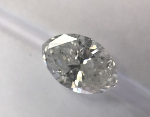 1.10 CT Loose Natural Marquise Cut Diamond Clarity Enhanced Bargain H COLOR