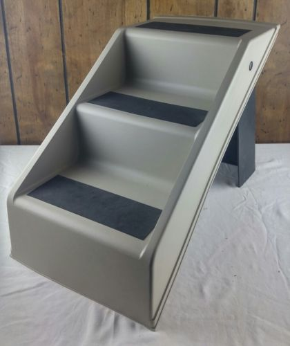 Dog Steps Folding Pet Stairs Portable Great for Dogs and Cats 14
