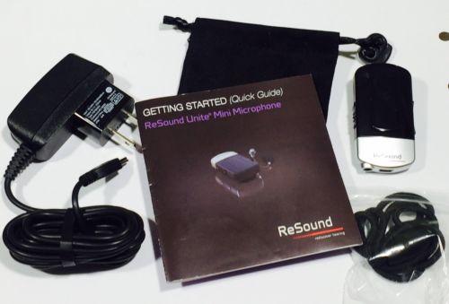 ReSound Unite Mini Microphone for Hearing Aids