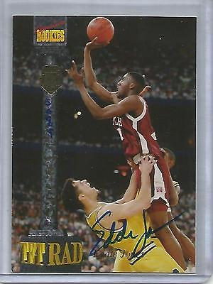 Eddie Jones 1994 Signature Rookies Tetrad Autograph #5089/7750