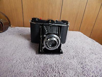 Vintage AGFA ANSCO B2  Speedex Camera With Case & Meter F 4.5 Lens