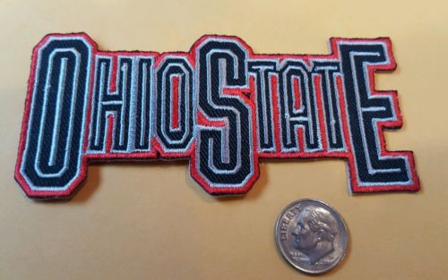 OHIO STATE BUCKEYES  Vintage Style iron on patch   4