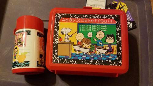 peanuts gang lunchbox aladdin