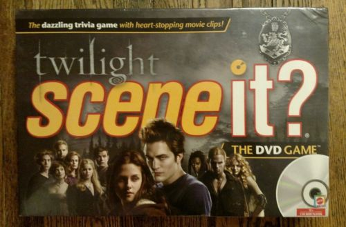 Twilight Scene It? The DVD Game New Factory Sealed (Mattel, 2009)