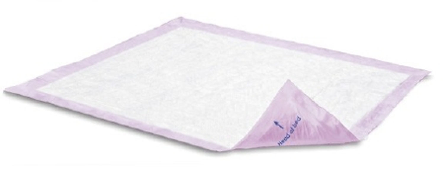 Underpad Attends Supersorb Breathable 30x36 Disposable Polymer Heavy Absorbency