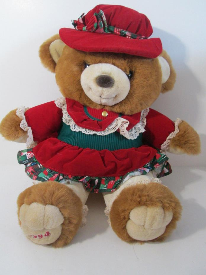 Mrs Claus Bear Lane Christmas 1994 Teddy Bear 21