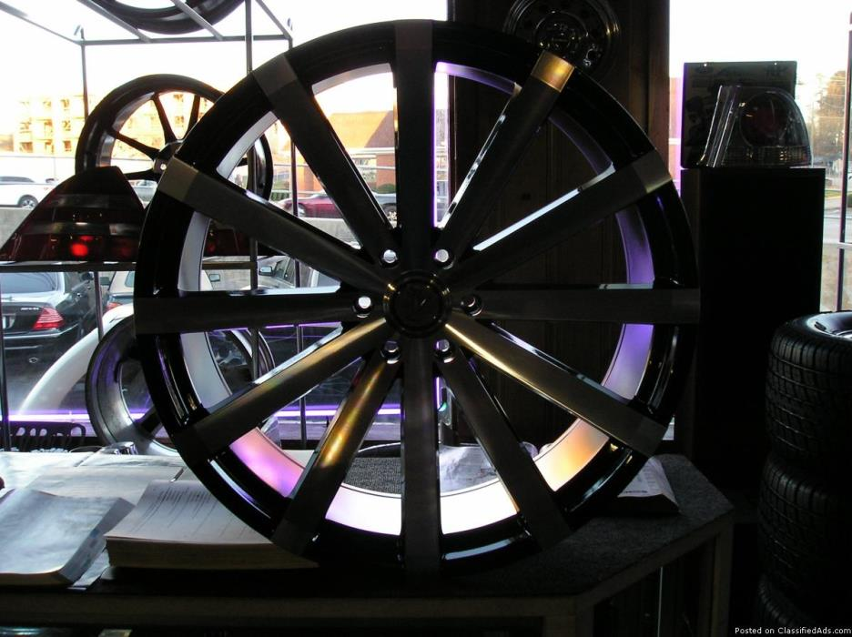 4 26 inch velocity wheels